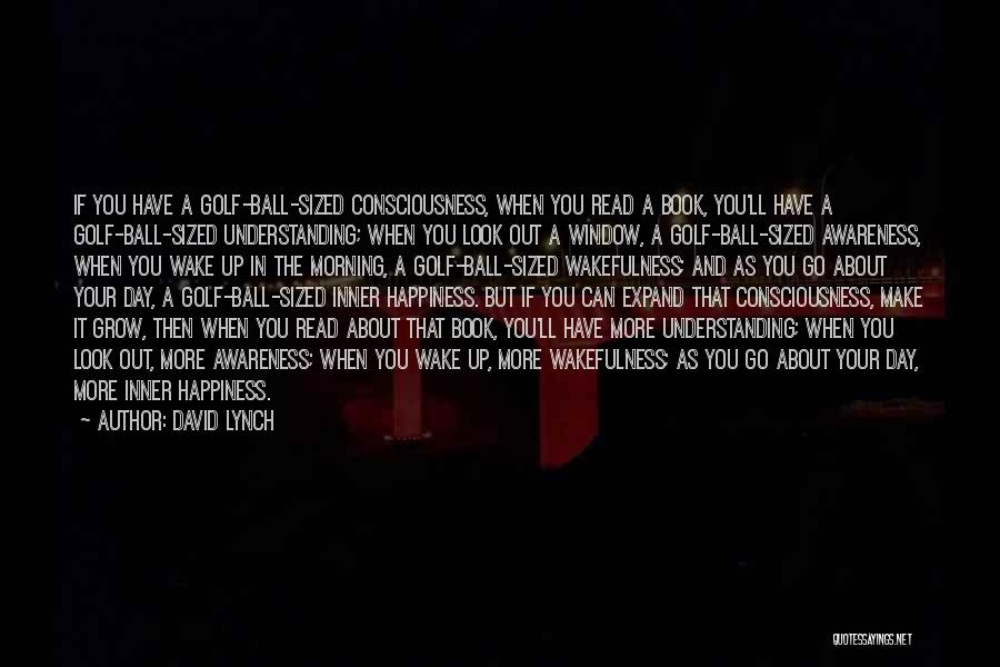 Wakefulness Quotes By David Lynch