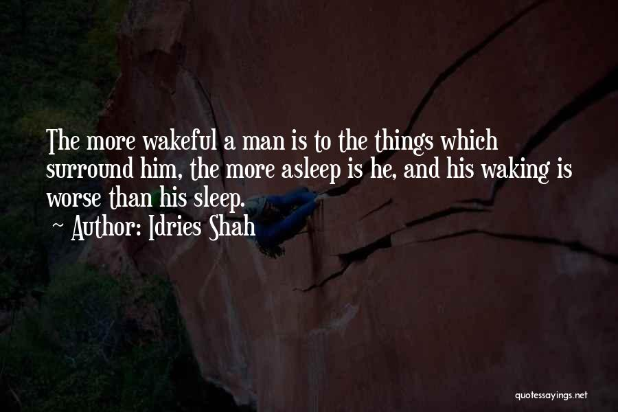 Wakefulness Quotes By Idries Shah