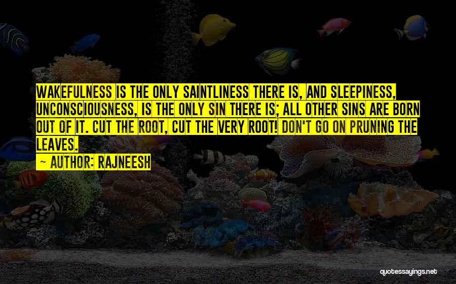 Wakefulness Quotes By Rajneesh