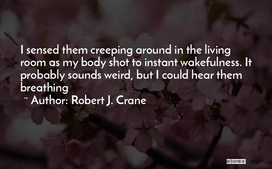 Wakefulness Quotes By Robert J. Crane