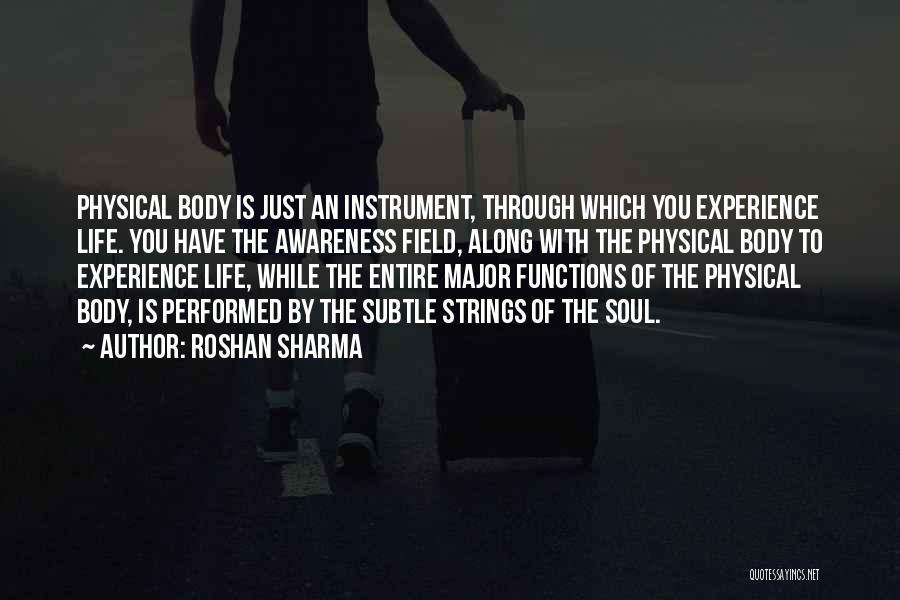 Wakefulness Quotes By Roshan Sharma