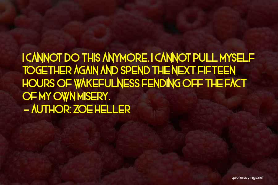 Wakefulness Quotes By Zoe Heller