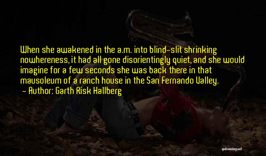 Waking Up Morning Quotes By Garth Risk Hallberg