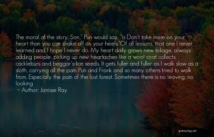 Walk Into My Shoes Quotes By Janisse Ray