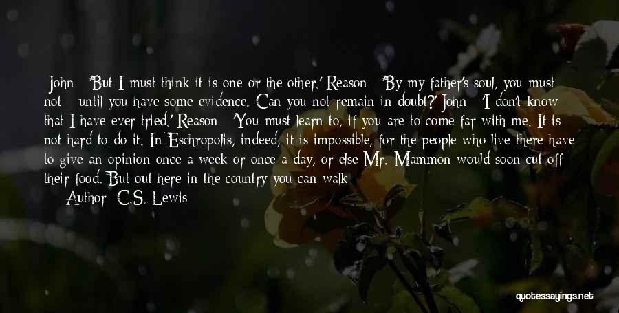 Walk Next To Me Quotes By C.S. Lewis