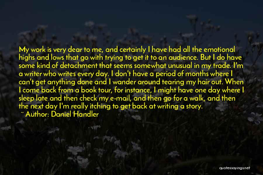 Walk Next To Me Quotes By Daniel Handler