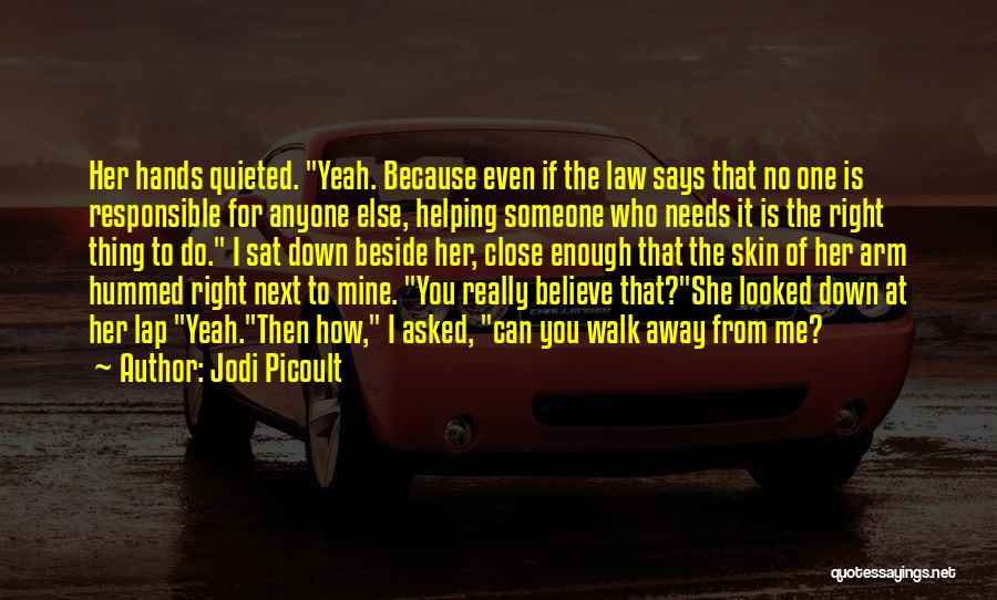 Walk Next To Me Quotes By Jodi Picoult