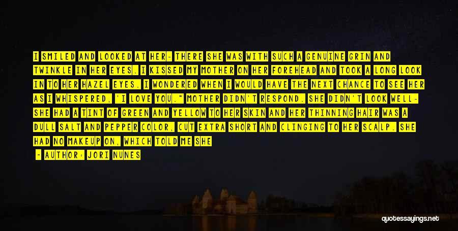 Walk Next To Me Quotes By Jori Nunes