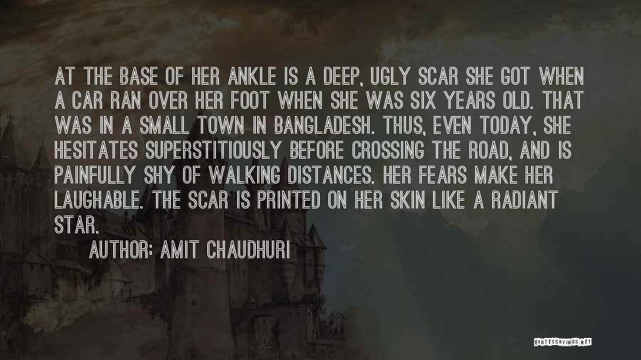 Walking On The Road Quotes By Amit Chaudhuri
