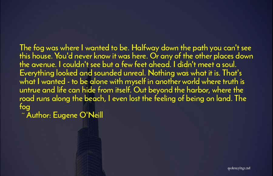 Walking On The Road Quotes By Eugene O'Neill