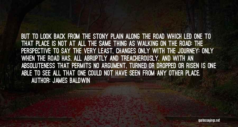 Walking On The Road Quotes By James Baldwin