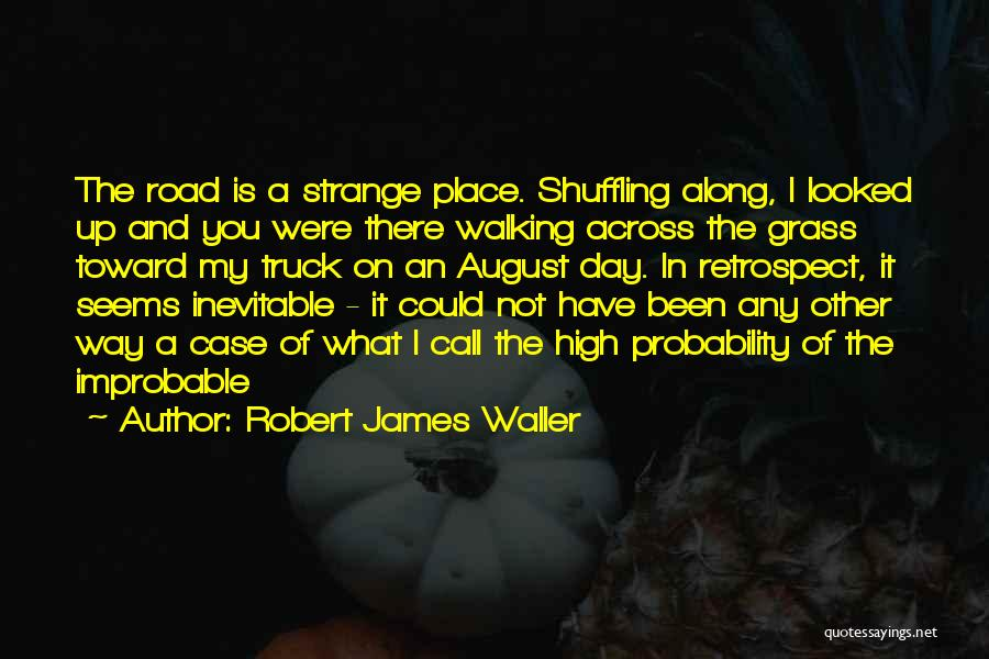 Walking On The Road Quotes By Robert James Waller