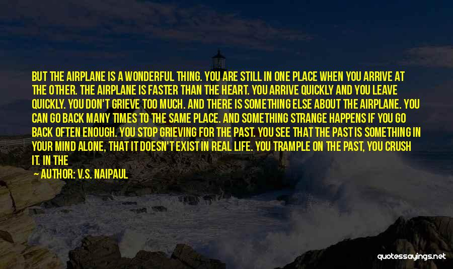 Walking On The Road Quotes By V.S. Naipaul