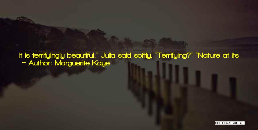 Walking Softly Quotes By Marguerite Kaye