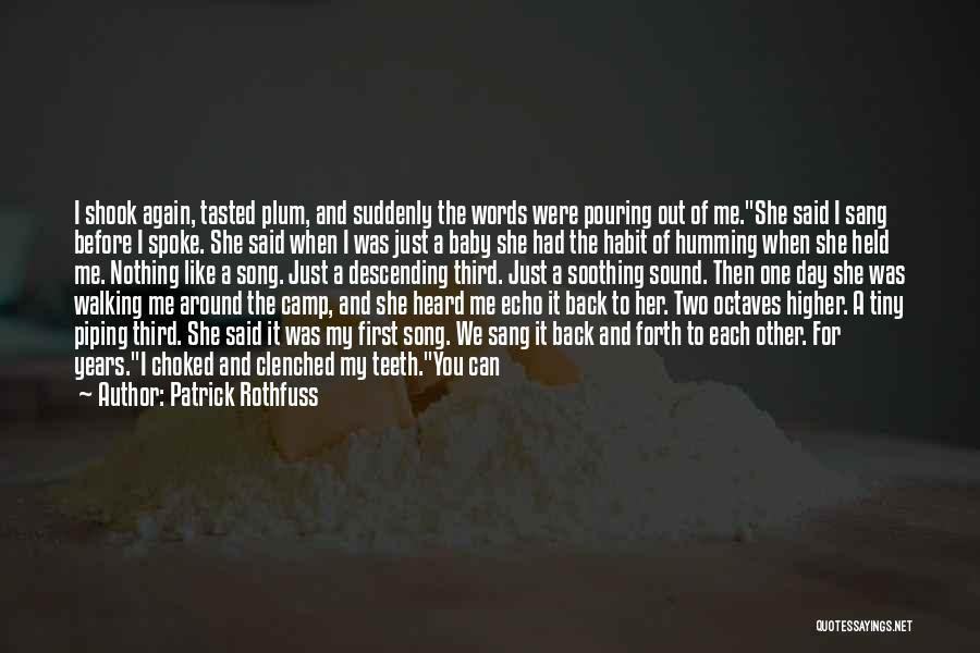 Walking Softly Quotes By Patrick Rothfuss
