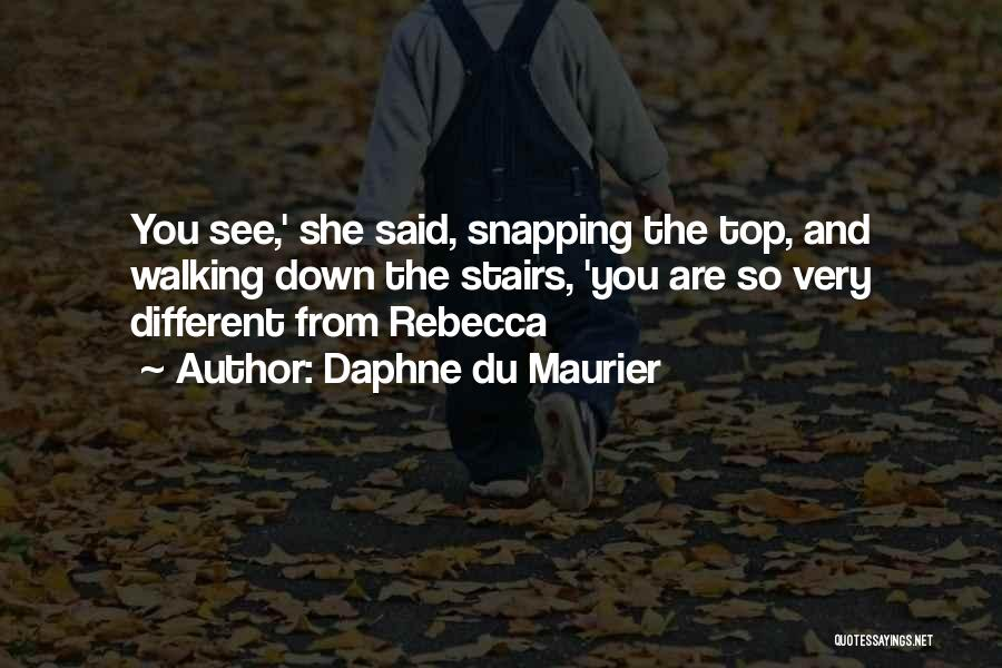 Walking Stairs Quotes By Daphne Du Maurier
