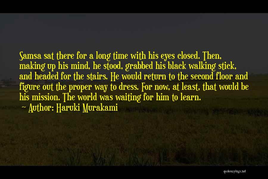 Walking Stairs Quotes By Haruki Murakami