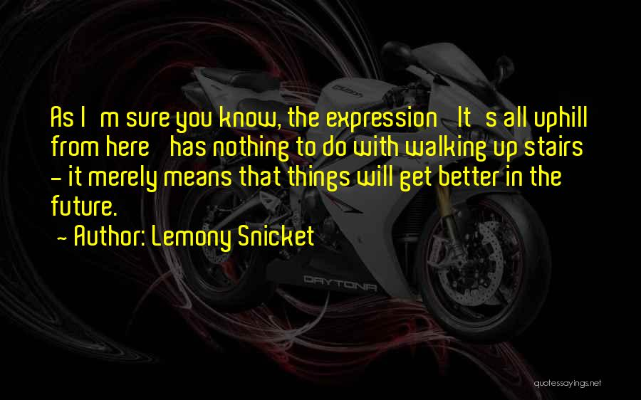 Walking Stairs Quotes By Lemony Snicket