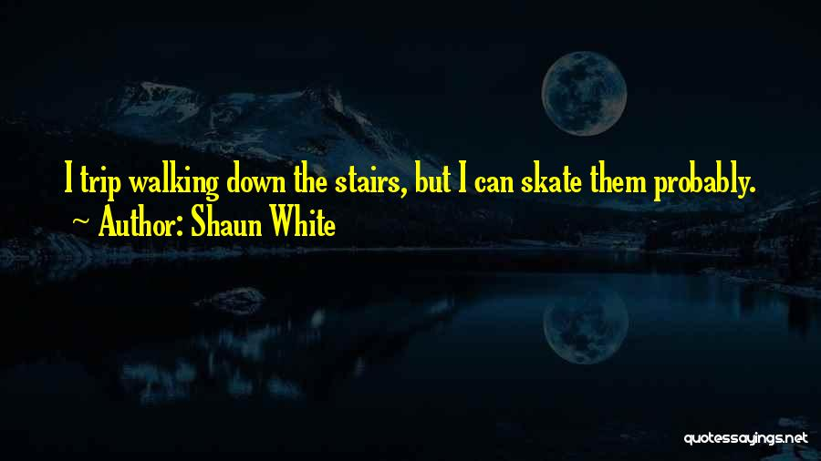 Walking Stairs Quotes By Shaun White