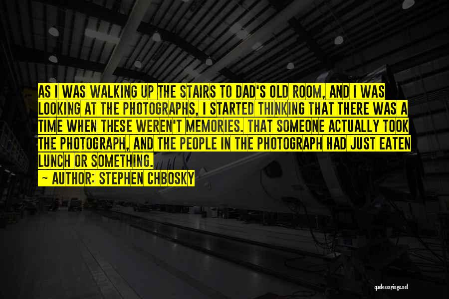 Walking Stairs Quotes By Stephen Chbosky