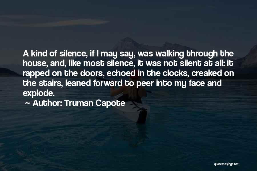Walking Stairs Quotes By Truman Capote