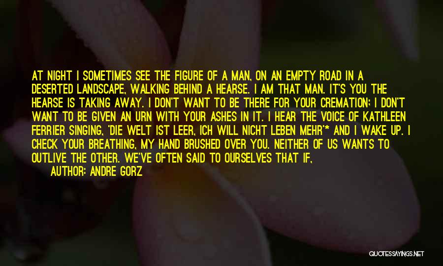 Walking With You Love Quotes By Andre Gorz