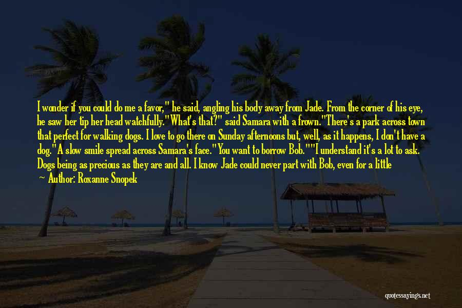 Walking With You Love Quotes By Roxanne Snopek