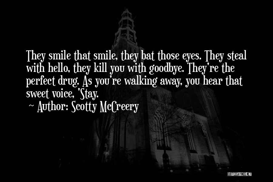 Walking With You Love Quotes By Scotty McCreery