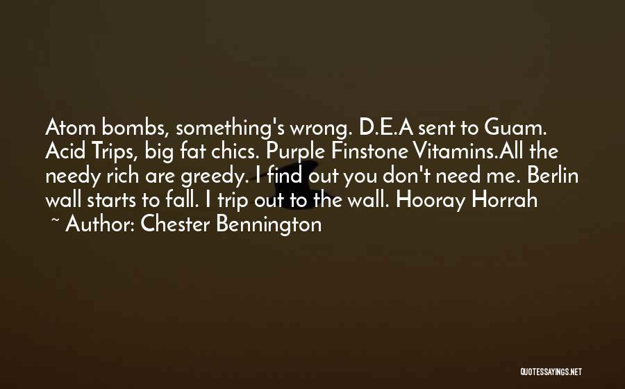Wall-e Quotes By Chester Bennington