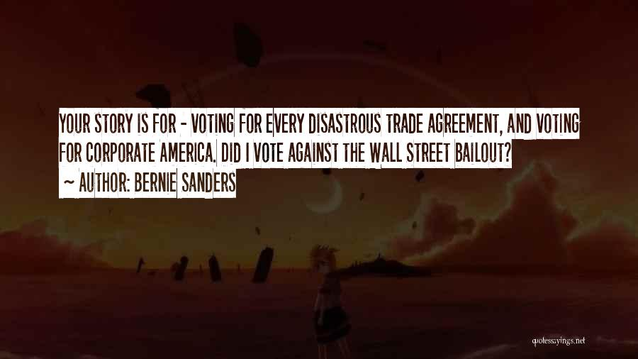 Wall Street Bailout Quotes By Bernie Sanders
