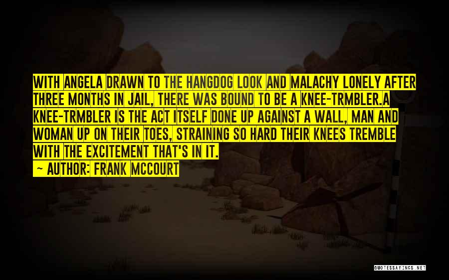 Wall Up Quotes By Frank McCourt