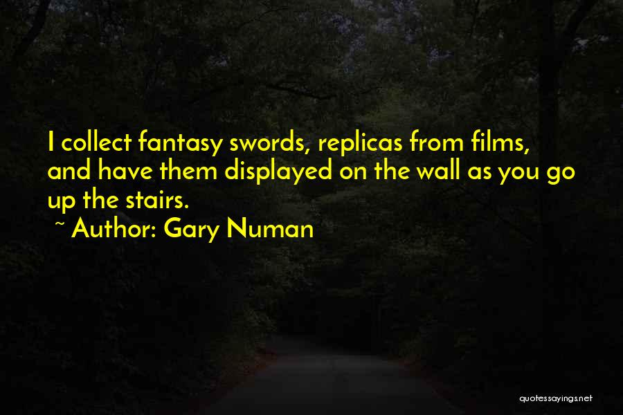 Wall Up Quotes By Gary Numan