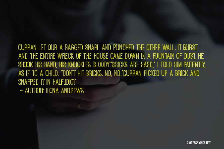 Wall Up Quotes By Ilona Andrews