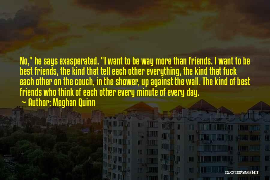 Wall Up Quotes By Meghan Quinn