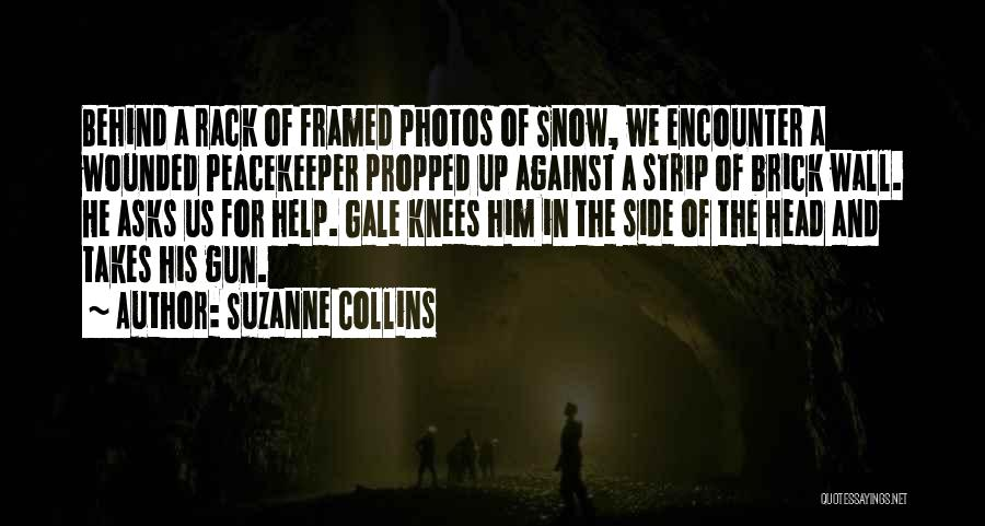 Wall Up Quotes By Suzanne Collins