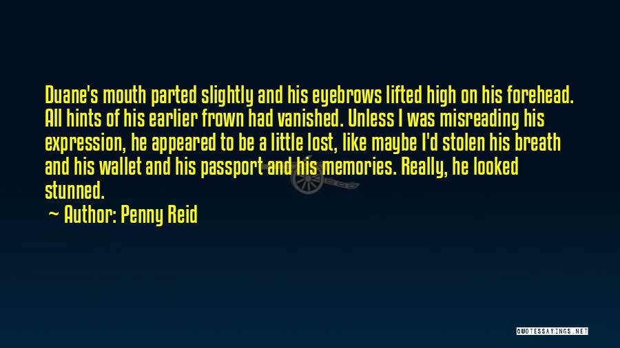 Wallet Stolen Quotes By Penny Reid