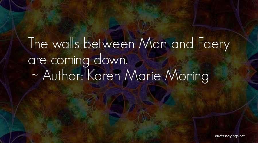 Walls Coming Down Quotes By Karen Marie Moning