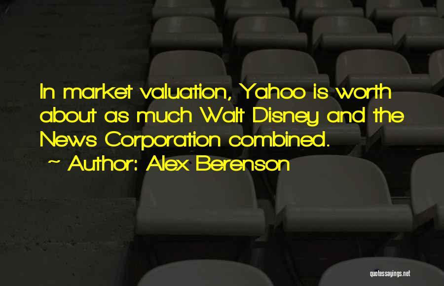 Walt Quotes By Alex Berenson