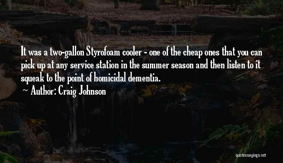 Walt Quotes By Craig Johnson