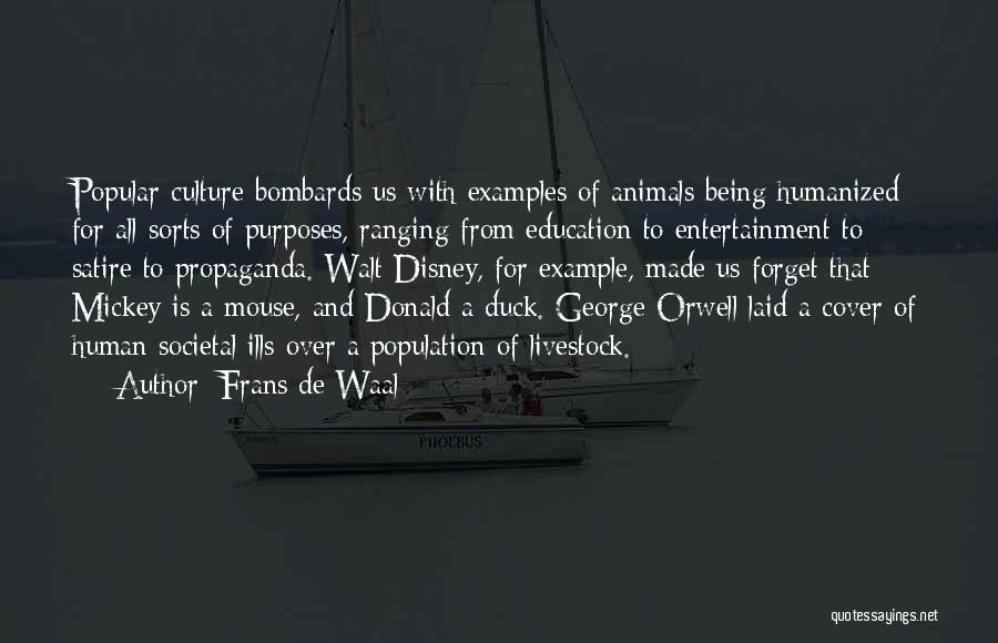 Walt Quotes By Frans De Waal