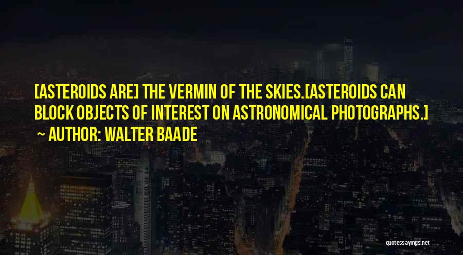 Walter Baade Quotes 1735454