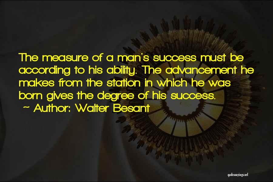 Walter Besant Quotes 1960140