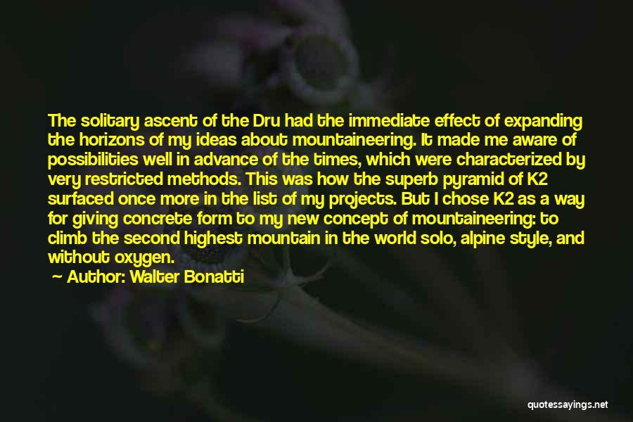 Walter Bonatti Quotes 1637623