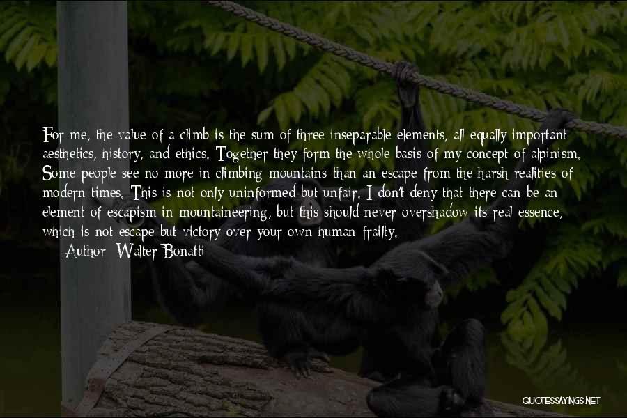 Walter Bonatti Quotes 387470