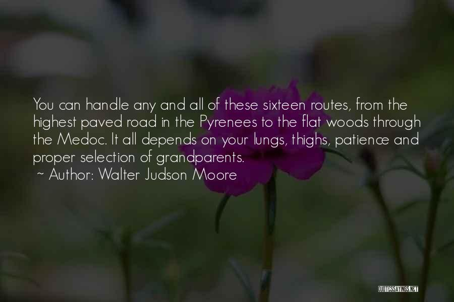 Walter Judson Moore Quotes 190194