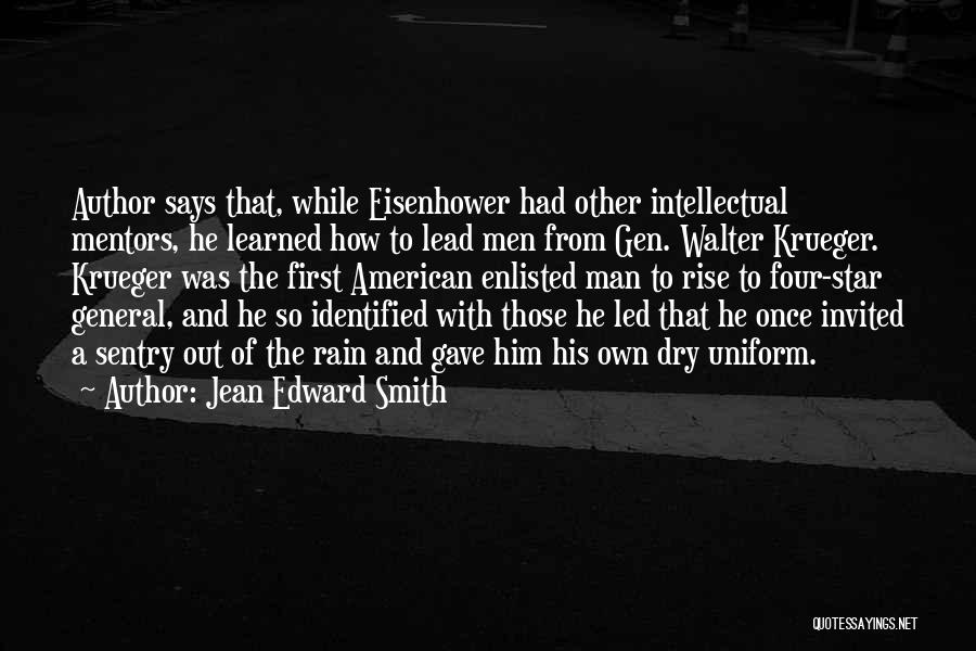 Walter Krueger Quotes By Jean Edward Smith