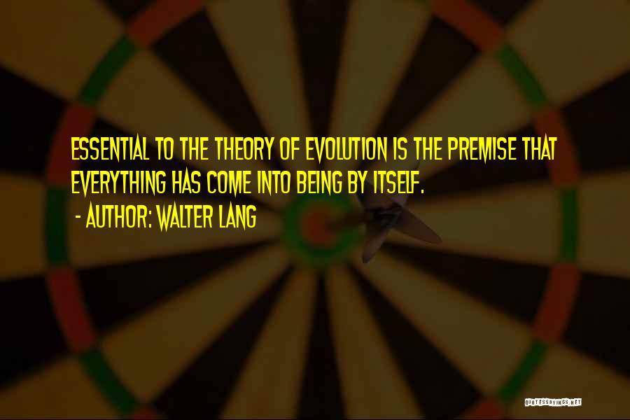 Walter Lang Quotes 852336