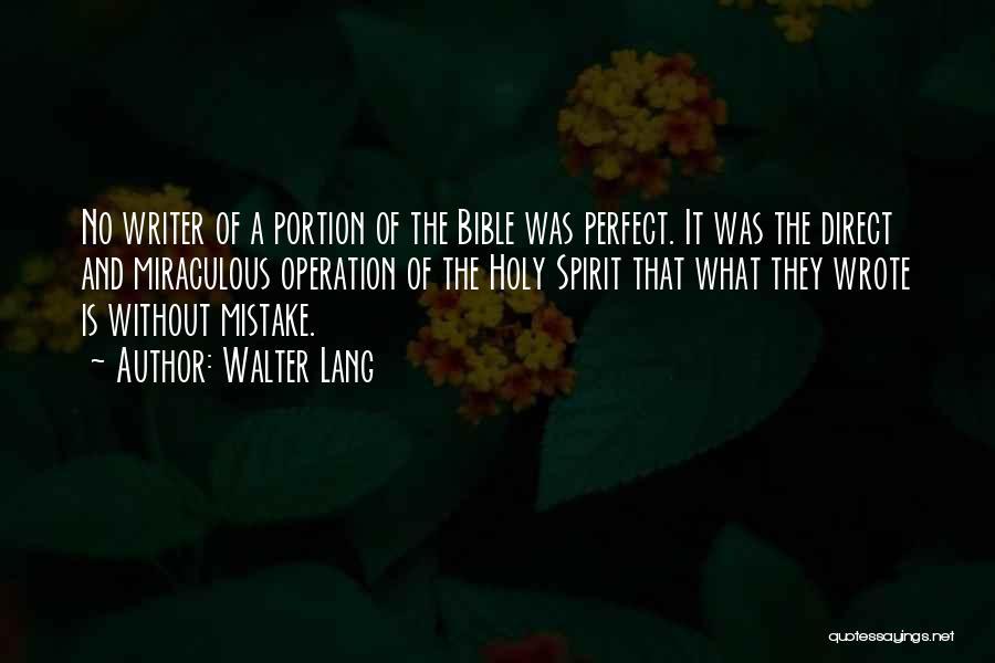 Walter Lang Quotes 997741