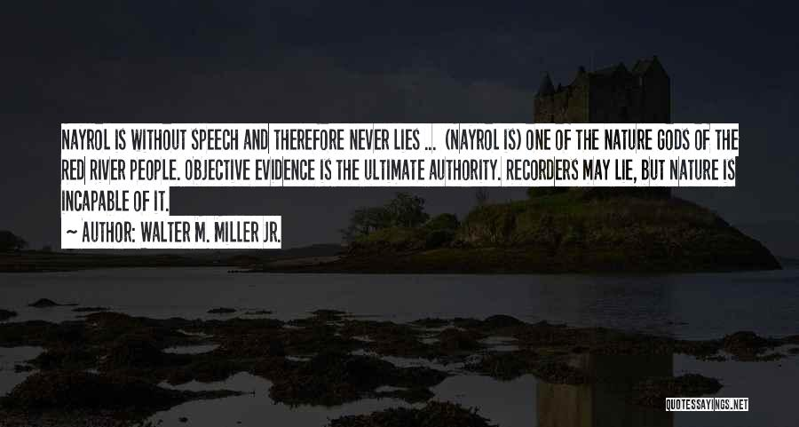 Walter M. Miller Jr. Quotes 1218708