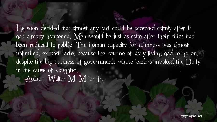 Walter M. Miller Jr. Quotes 1240006